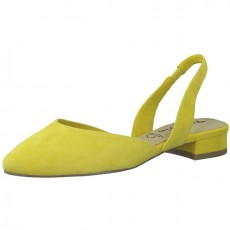 Tamaris Yellow Trend Sling Back Shoe