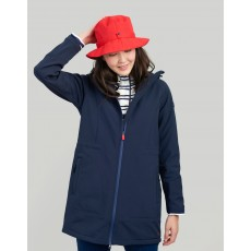 Joules Westport Practical Soft Shell Coat Marine Navy