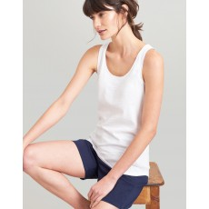Joules Bo Bright White Jersey Vest