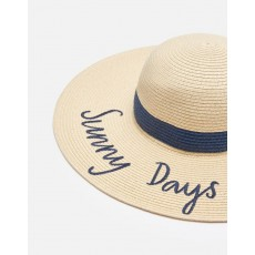 Joules Shade Navy Sunny Days Band Sun Hat