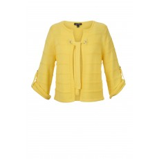 Marble Cardigan Yellow