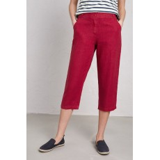 Seasalt Brawn Point Cropped Trousers Maple