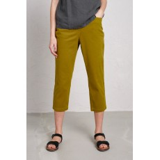 Seasalt Albert Quay Cropped Trousers Pear