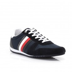 Tommy Hilfiger Essential Nylon Runner Trainers Midnight