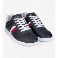a216133b41b7 Tommy Hilfiger Essential Corporate Cupsole Trainer Midnight ...