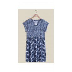 Mistral Swimming fishes in Reed Dress Blue