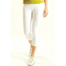 Nomads Crop Leggings White