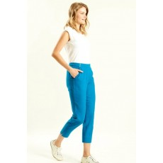 Nomads Slim Crop Trousers Aegean