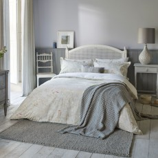 Sanderson Chiswick Grove Duvet Cover  Silver