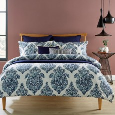 Christy Siam Bedding Indigo