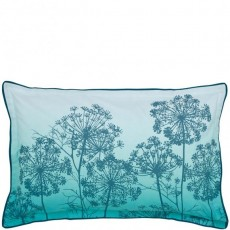 Bedeck Clarissa Hulse Dill Oxford Pillowcase Aqua