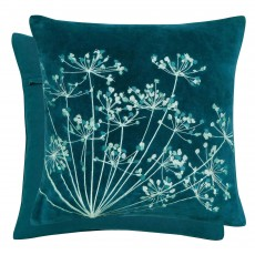 Bedeck Clarissa Hulse Dill Cushion 50 x 30 Aqua