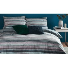 Terence Conran Painted Stripe Bedding Slate