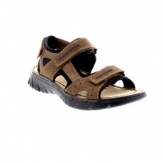 Rieker Bastia Chios Scuba Brown/Black Sandals