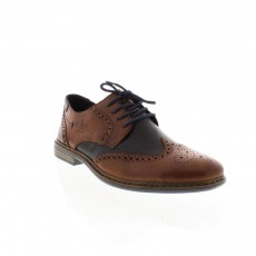 Rieker Clermont Bakersfield Brown/Navy Brogues