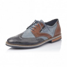 Rieker Bakersfield Serbia Blue/Brown Brogues