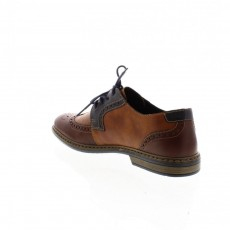 Rieker Combination Lace Up Shoe
