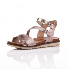 Remonte Malawi Puerto Cooper/Rose Gold Sandals