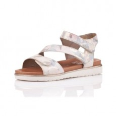 Remonte Astrale Gray Metallic Sandals