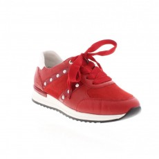 Remonte Ottawa Goatsuede Red Trainers