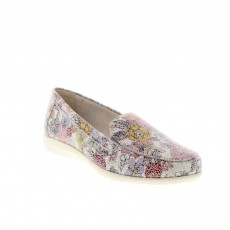 Remonte Sunset Multi Colour Flower Slip On Shoes