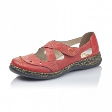 Rieker Massa Shoe Red