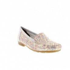 Rieker Illinois Grey Multi Coloured Loafer