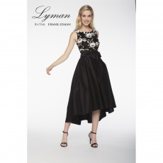 Frank Lyman Dress Black/Gold