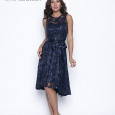 Frank Lyman Dress Navy