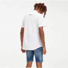Tommy Jeans Solid Poplin Shirt