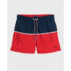 Gant Cut and Sewn Red Swim Shorts