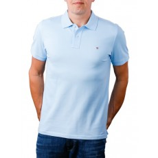 Gant Original Pique Blue Polo Shirt