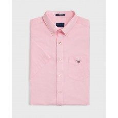 Gant Broadcloth Rose Regular Short Sleeve Shirt