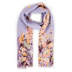 Scarf Spring Hare Print Lilac