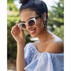 Samantha Sunglasses Cream