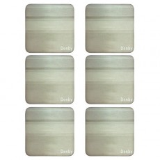 Denby Colours Natural 6pc Coasters
