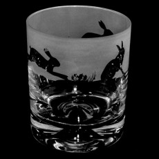 Whisky Tumblers Hare Pair