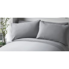Pom Pom Bedding Grey