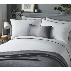 Pom Pom Bedding White