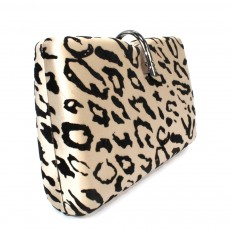 Lunar Leopard Clutch Bag