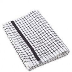 Poli-Dri Tea Towel Black