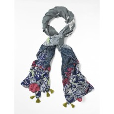White Stuff Lighthouse Print Scarf Multi