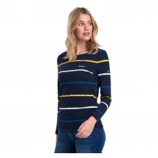 Barbour Hawkins Stripe Navy