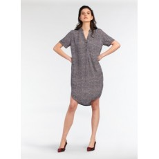 Sandwich Woven Anthra Medium Dress