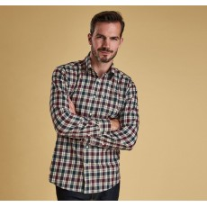 Barbour Astwell Shirt  Merlot