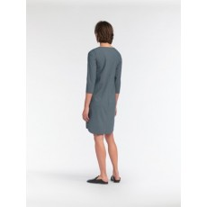 Sandwich Jersey Medium Thyme Dress