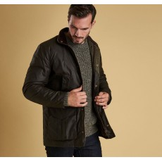 Barbour Hereford Wax   Olive