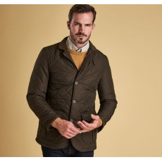 Barbour Quilted Lutz Olive