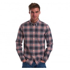 Barbour High Check 11 Shirt Grey Marl