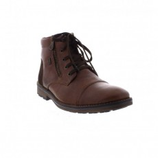 Rieker Lace Boot Cigar